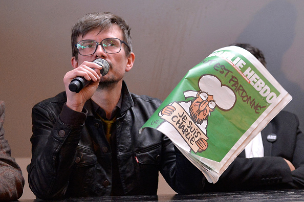 Conference - Event「Charlie Hebdo Press Conference At Liberation In Paris」:写真・画像(5)[壁紙.com]
