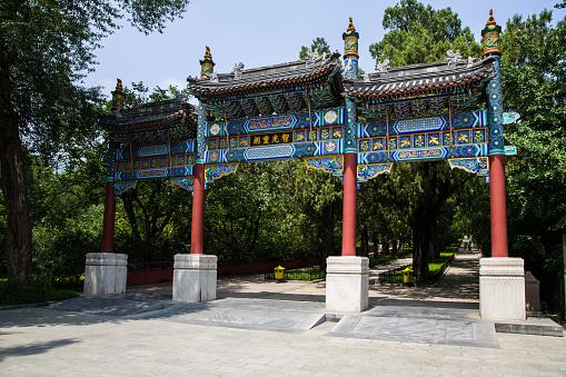 Boulevard「Beijing Xiangshan Wat Chayamangkalaram arch」:スマホ壁紙(18)