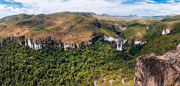 Dramatic Landscape「Waterfall Saltos do Rio Preto - Chapada dos Veadeiros - Goiás」:スマホ壁紙(19)