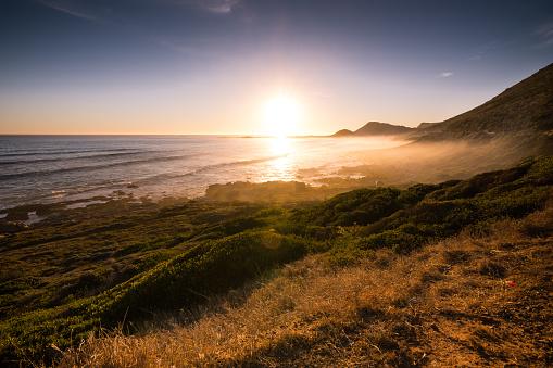 マイアミビーチ「霧の断崖ビーチ近くスカーバラ, 南アフリカ共和国」:スマホ壁紙(12)