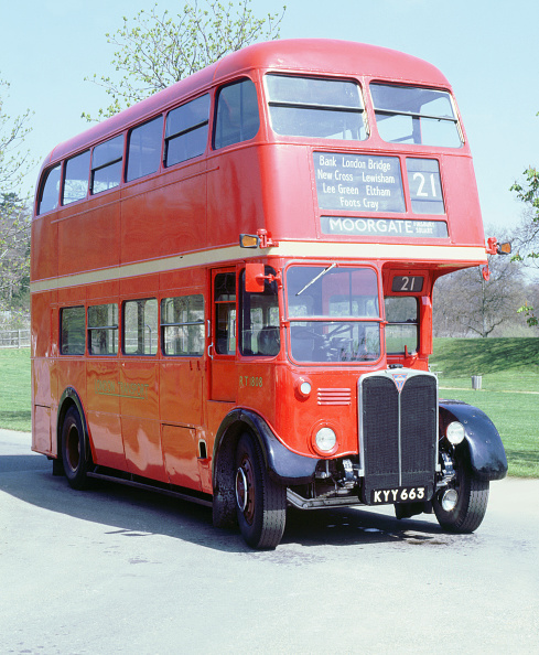 Bus「1950 AEC RT double decker London bus」:写真・画像(17)[壁紙.com]