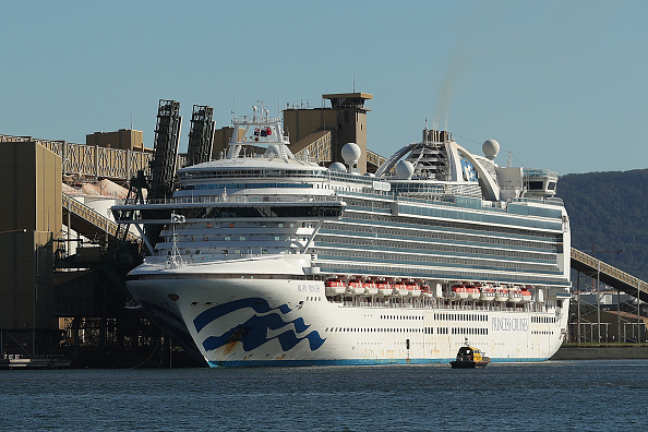 Ship「Ruby Princess Cruise Ship Docks In NSW Following Launch Of Criminal Investigation Over Coronavirus Spread」:写真・画像(5)[壁紙.com]