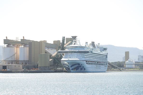 Moored「Ruby Princess Set To Depart Australian Waters Following Orders By Border Force」:写真・画像(6)[壁紙.com]