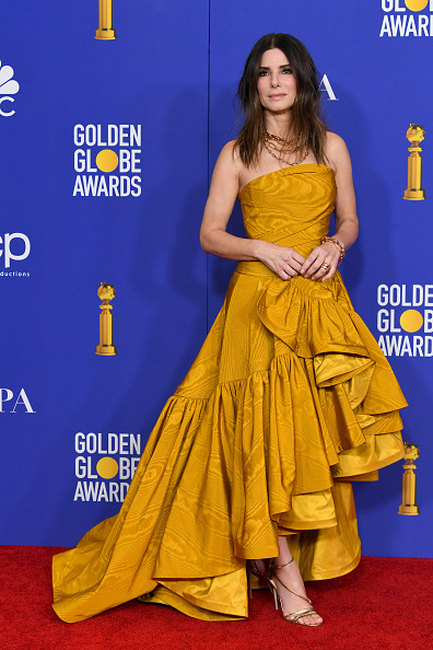 Middle Hair Part「77th Annual Golden Globe Awards - Press Room」:写真・画像(5)[壁紙.com]