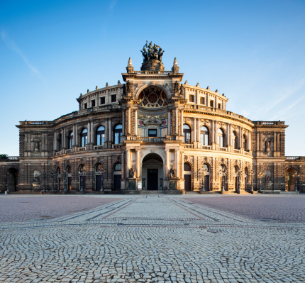 Town Square「Semperoper」:スマホ壁紙(13)