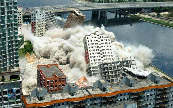 Demolishing「Demolition's Named China's No. 1 Blast」:写真・画像(9)[壁紙.com]