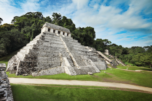 Latin American Civilizations「Palenque ruins - Temple of Inscriptions」:スマホ壁紙(17)