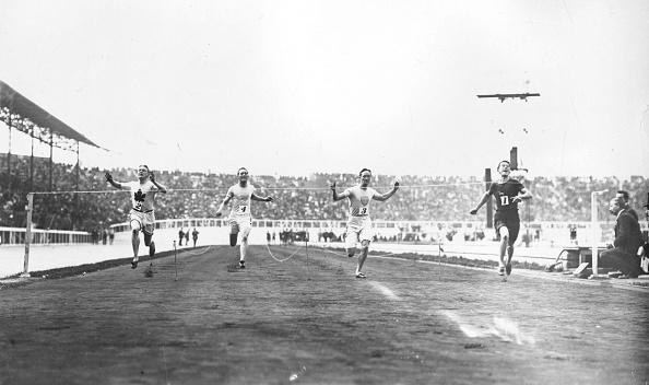 オリンピック「1908 Olympic 100 Meters Race」:写真・画像(1)[壁紙.com]