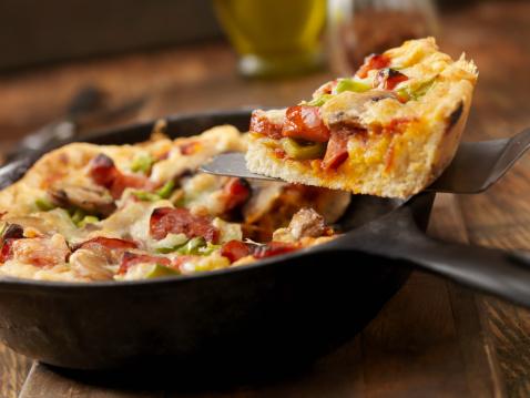 Cast Iron「Deep Dish Skillet Pizza」:スマホ壁紙(14)