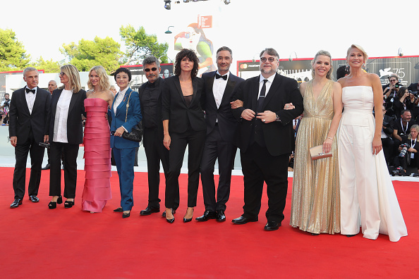 Jury - Entertainment「First Man Premiere, Opening Ceremony And Lifetime Achievement Award To Vanessa Redgrave Red Carpet Arrivals - 75th Venice Film Festival」:写真・画像(10)[壁紙.com]
