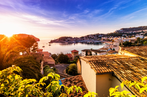 Majorca「Sunset in Port De Soller (Mallorca)」:スマホ壁紙(18)