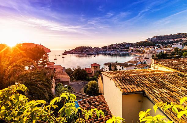 Sunset in Port De Soller (Mallorca):スマホ壁紙(壁紙.com)
