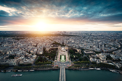 France「Sunset In Paris」:スマホ壁紙(1)