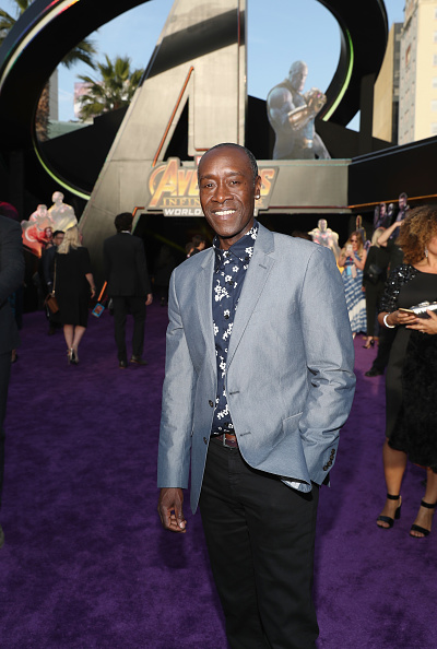 "Don Cheadle「Los Angeles Global Premiere for Marvel Studios' ""Avengers: Infinity War""」:写真・画像(15)[壁紙.com]"