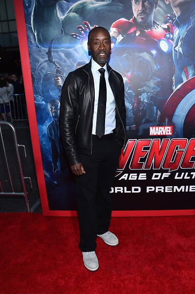 ドン チードル「World Premiere Of Marvel's 'Avengers: Age Of Ultron' - Red Carpet」:写真・画像(17)[壁紙.com]