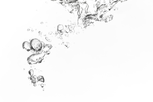 Pouring「Bubbles」:スマホ壁紙(2)