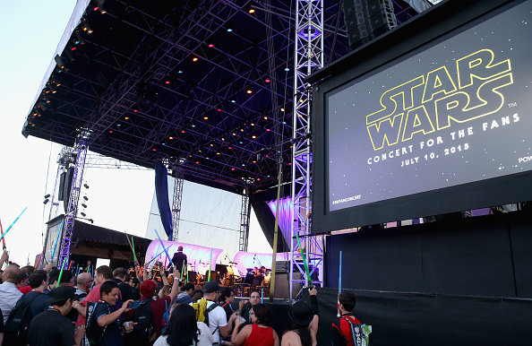 Star Wars Series「Star Wars: The Force Awakens Panel At San Diego Comic Con - Comic-Con International 2015」:写真・画像(16)[壁紙.com]