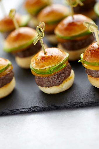 Buffet「Hamburger canapes」:スマホ壁紙(6)