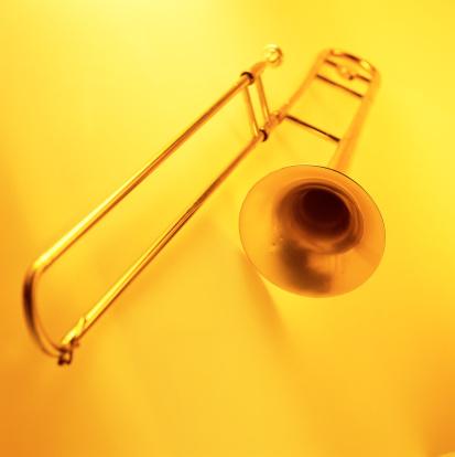 Trombone「shot of a brass wind instrument」:スマホ壁紙(19)