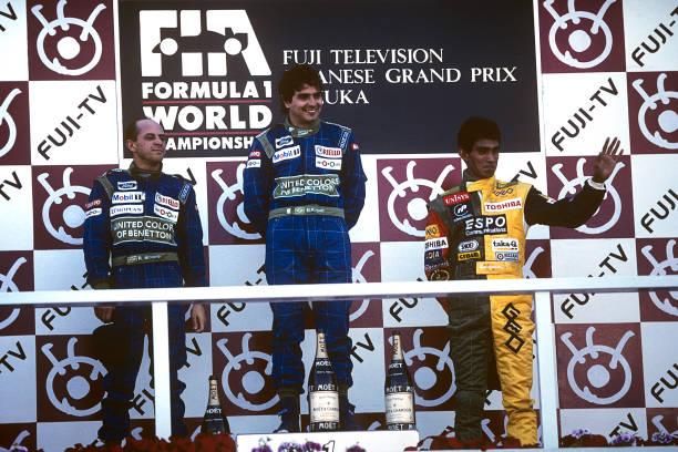Grand Prix Motor Racing「Nelson Piquet, Roberto Moreno, Aguri Suzuki, Grand Prix Of Japan」:写真・画像(8)[壁紙.com]