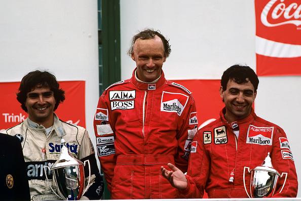 Austria「Nelson Piquet, Niki Lauda, Michele Alboreto, Grand Prix Of Austria」:写真・画像(1)[壁紙.com]