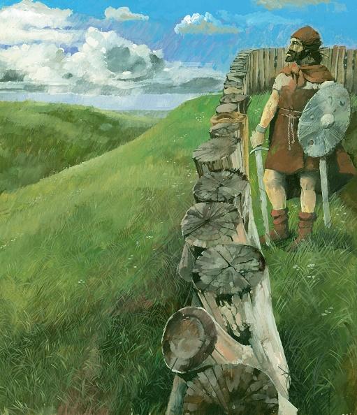 Fort「Iron Age Man At Liddington Castle Hillfort」:写真・画像(19)[壁紙.com]