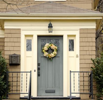 Front Door「Colonial Blue Door」:スマホ壁紙(6)