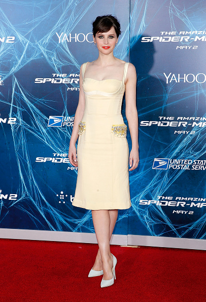 """Yellow Dress「""""The Amazing Spider-Man 2"""" New York Premiere - Outside Arrivals」:写真・画像(2)[壁紙.com]"""