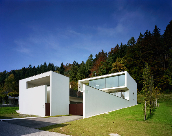Wall - Building Feature「Housing, Voecklabruck, Upper Austria, architect Gaertner & Neururer, 2002」:写真・画像(10)[壁紙.com]