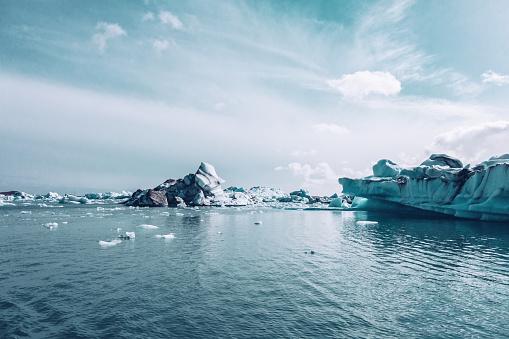 Ice Floe「Jokulsarlon Glacier Lagoon」:スマホ壁紙(17)