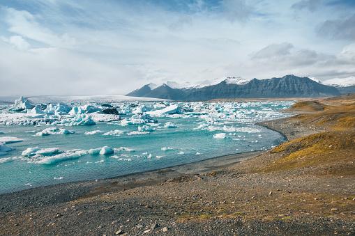 Glacier Bay National Park「Jokulsarlon Glacier Lagoon」:スマホ壁紙(13)