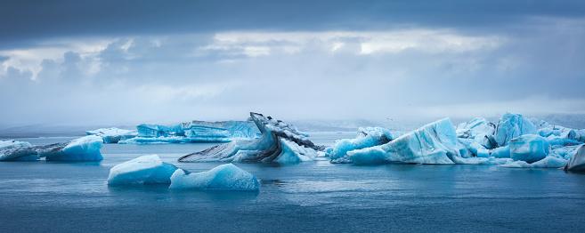 Lagoon「Jokulsarlon Glacial Lagoon」:スマホ壁紙(18)