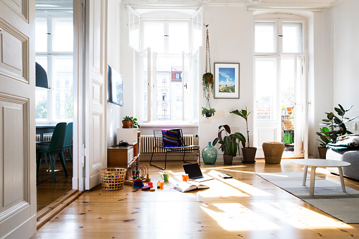 Home Interior「Apartment in sunlight」:スマホ壁紙(5)