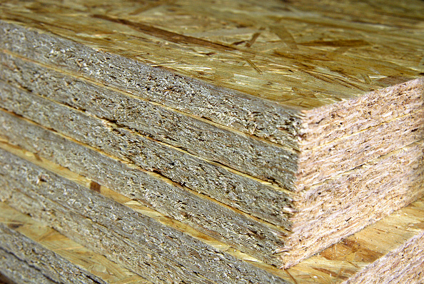 Plank - Timber「Stack of oriented strand - chipboard.」:写真・画像(9)[壁紙.com]