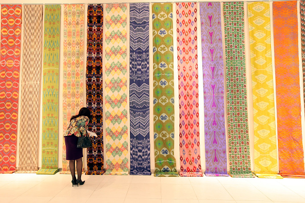 Rug「Style.UZ: Applied Arts, Design and Fashion Exhibition Held At Youth Creativity Palace」:写真・画像(15)[壁紙.com]