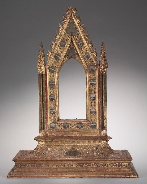 Circa 14th Century「Frame For A Portable Reliquary Icon」:写真・画像(2)[壁紙.com]