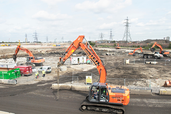 2012 Summer Olympics - London「Olympics 2012 construction site, Stratford, London, UK」:写真・画像(14)[壁紙.com]