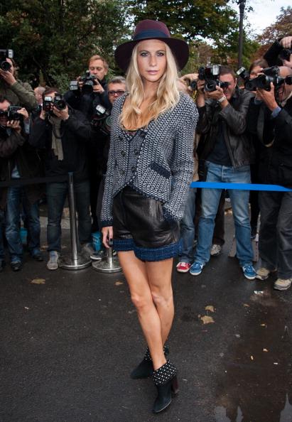 春「Chanel: Outside Arrivals - Paris Fashion Week Womenswear Spring / Summer 2013」:写真・画像(7)[壁紙.com]