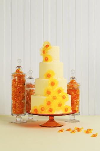 Butterscotch Candy「Yellow Butterscotch Wedding Cake」:スマホ壁紙(16)