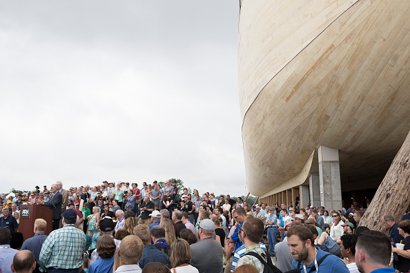 Aaron P「Creationist Builds Large Scale Noah's Ark In Northern Kentucky」:写真・画像(14)[壁紙.com]