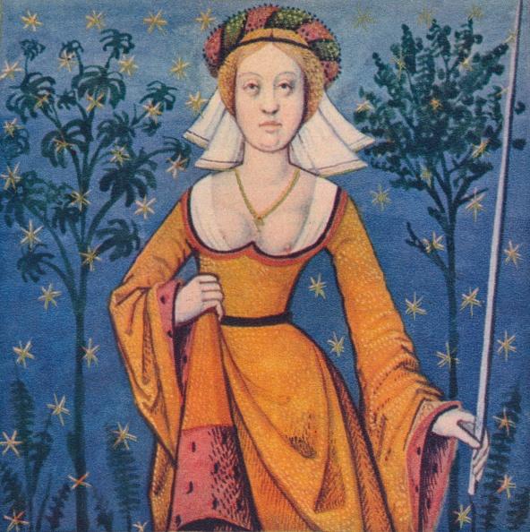 Circa 15th Century「Flore - Deesse Des Fleurs 1403 (1939)」:写真・画像(14)[壁紙.com]