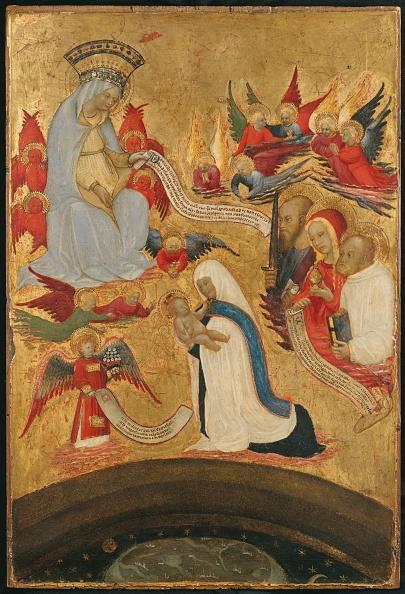 Tempera Painting「Santa Francesca Romana Holding The Christ Child」:写真・画像(16)[壁紙.com]