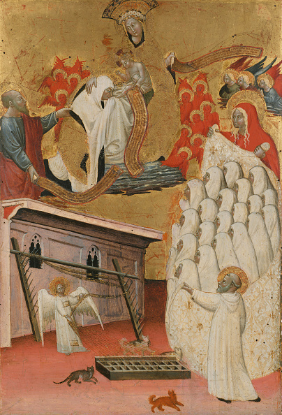 Mary Magdalene「Santa Francesca Romana Clothed By The Virgin」:写真・画像(8)[壁紙.com]