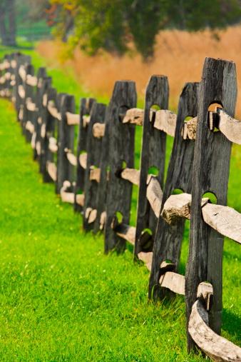 Wooden Post「Rail Fence Post Corral Enclosure」:スマホ壁紙(13)