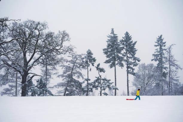 Heavy Snow Hits The UK:ニュース(壁紙.com)