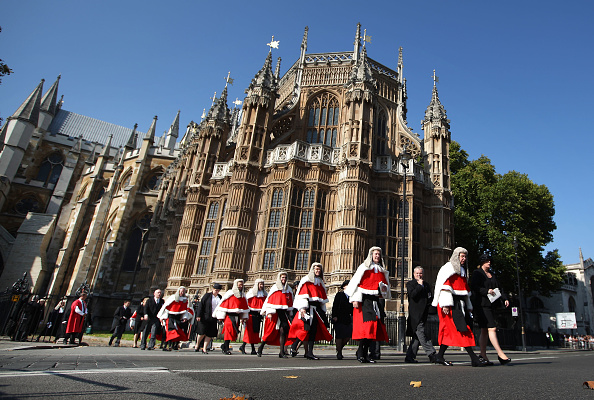 Horizontal「Judges Attend Their Annual Service Of Thanksgiving At Westminster Abbey」:写真・画像(17)[壁紙.com]