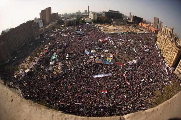 Egypt「Egyptians Celebrate The First Anniversary Of The Revolution In Tahrir Square」:写真・画像(13)[壁紙.com]