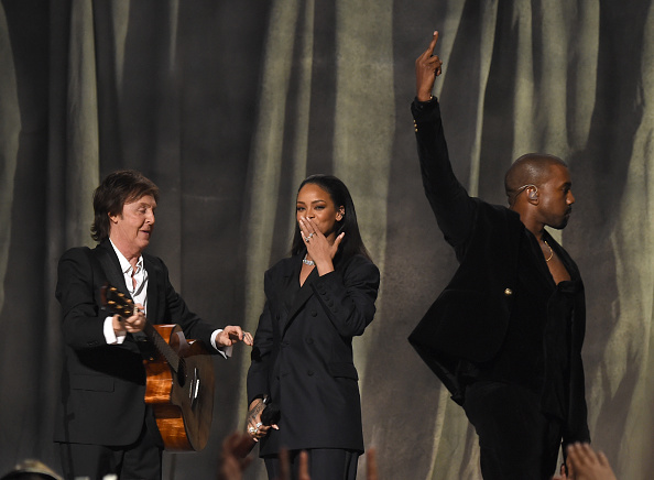 Kanye West - Musician「The 57th Annual GRAMMY Awards - Telecast」:写真・画像(8)[壁紙.com]