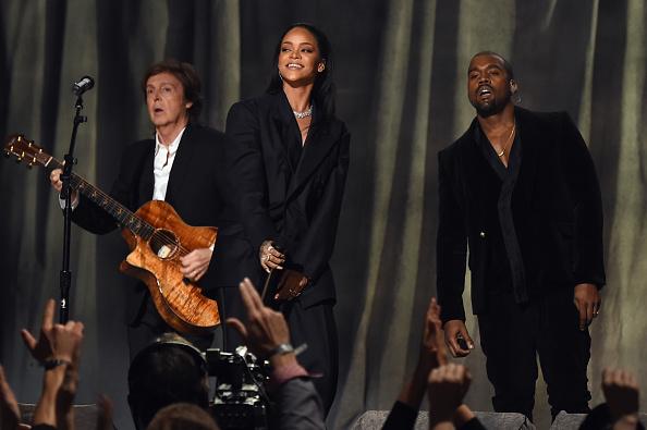 Kanye West - Musician「The 57th Annual GRAMMY Awards - Telecast」:写真・画像(11)[壁紙.com]
