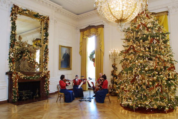 Christmas Decoration「White House Christmas Decorations」:写真・画像(17)[壁紙.com]